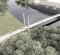 Cambridgeshire awards design contract for suspension footbridge logo