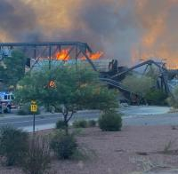 Derailed train causes partial collapse of Arizona bridge logo