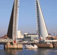Latest repair gets under way for Poole lifting bridge logo