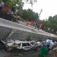 India begins probe into fatal collapse of flyover under construction logo
