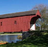 Funds secured for refurb of historic covered bridge logo